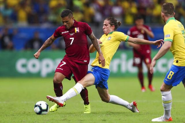Hai lần VAR từ chối bàn thắng, Brazil hòa cay đắng trước Venezuela - 3
