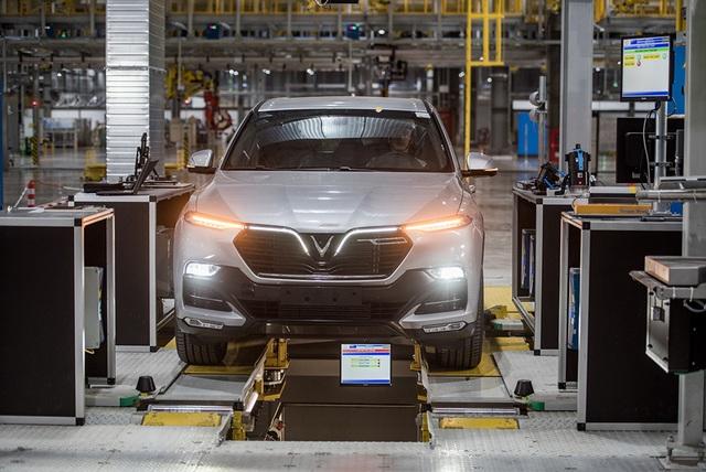 Bên trong nhà máy sản xuất 38 xe ô tô/giờ của VinFast - 11