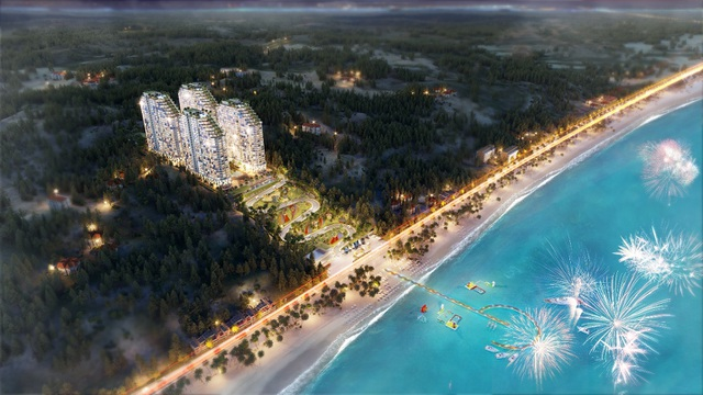 Coteccons khởi công đường nội khu cho dự án Apec Mandala Wyndham Mũi Né trong tháng 6 - 1
