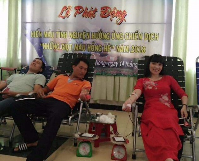 Nữ cán bộ xã biên giới gần 30 lần hiến máu cứu người - 2