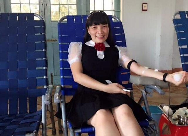 Nữ cán bộ xã biên giới gần 30 lần hiến máu cứu người - 1