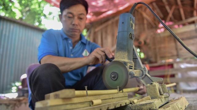 Mục sở thị quy trình làm ống hút tre xuất khẩu mang về tiền tỷ mỗi tháng  của 8X Việt - 4