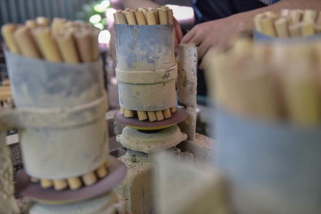 Mục sở thị quy trình làm ống hút tre xuất khẩu mang về tiền tỷ mỗi tháng  của 8X Việt - 7