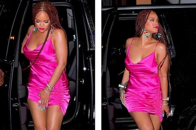 Rihanna tăng cân vẫn xinh đẹp - 4