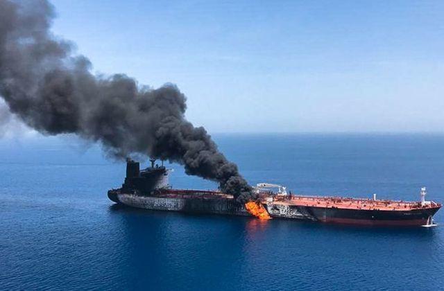 """Iran """"tố ngược"""" Mỹ tấn công tàu dầu tại vịnh Oman - 2"""