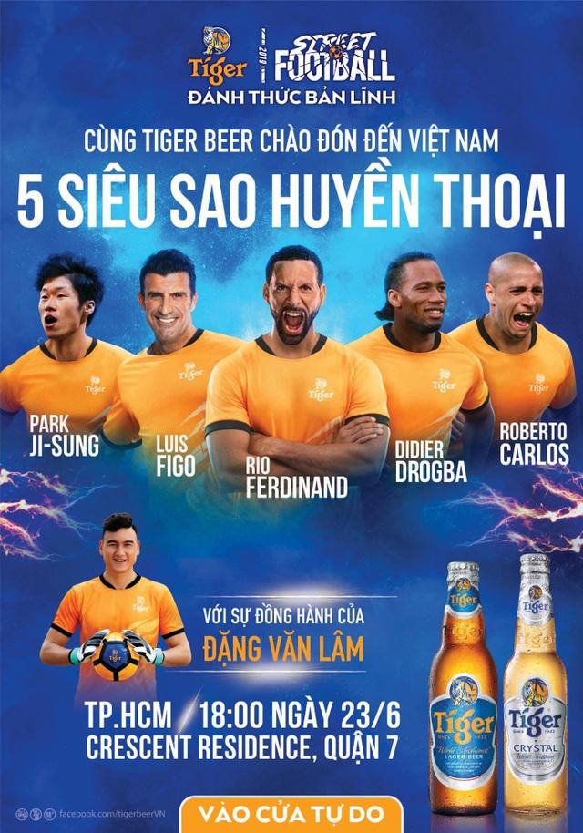 Hai ngôi sao Real Madrid Roberto Carlos và Luis Figo tái ngộ tại Việt Nam - 10