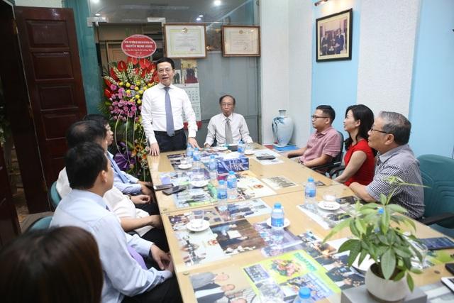 Bộ trưởng Nguyễn Mạnh Hùng: Báo Dân trí chắc chắn chỉ tốt lên! - 1