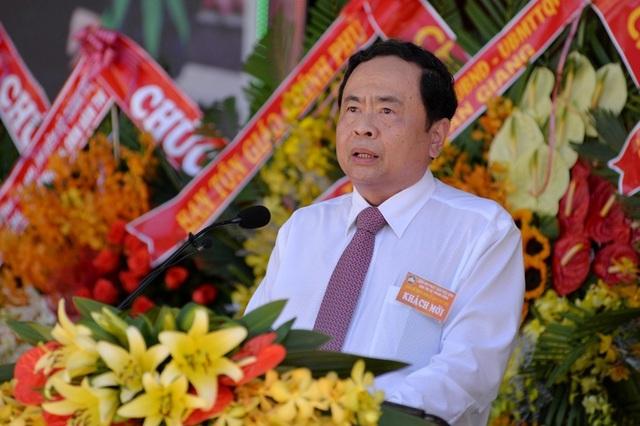 Chủ tịch MTTQ Việt Nam  dự kỷ niệm 80 năm Ngày khai sáng đạo Phật giáo Hòa Hảo - Ảnh minh hoạ 2