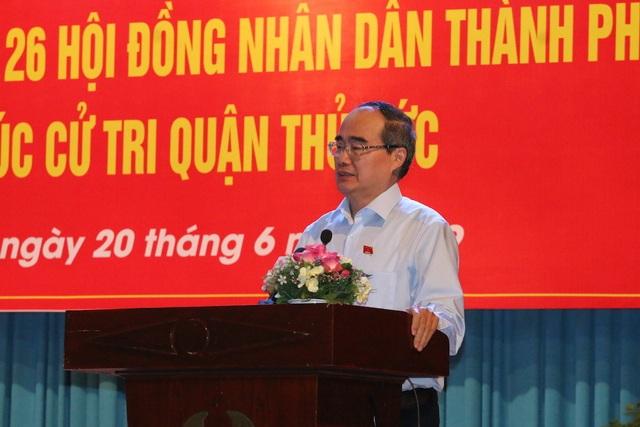 Bí thư Nguyễn Thiện Nhân: Ông Đoàn Ngọc Hải vẫn phải làm việc - 3
