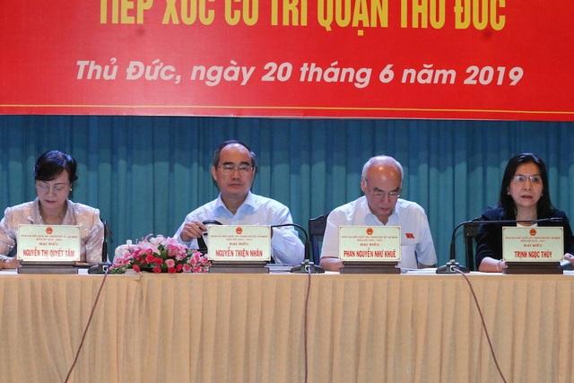 Bí thư Nguyễn Thiện Nhân: Ông Đoàn Ngọc Hải vẫn phải làm việc - 1
