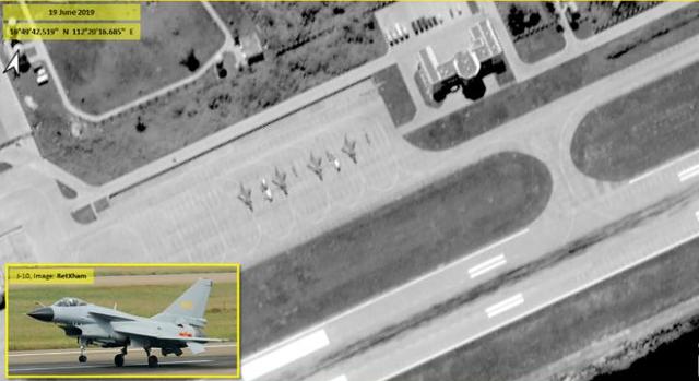 Trung Quốc triển khai phi pháp 4 máy bay chiến đấu tới Hoàng Sa - 1