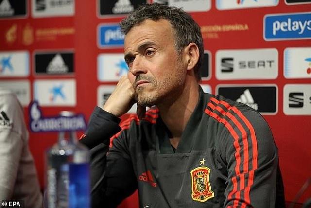 Luis Enrique từ chức HLV đội tuyển Tây Ban Nha - 1