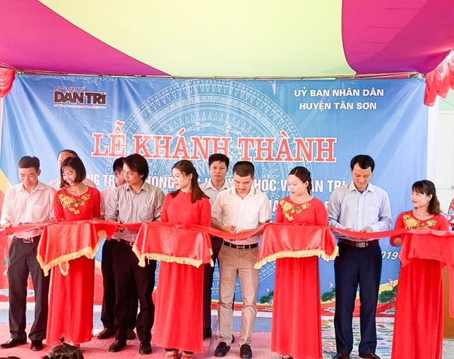 Phòng học Dân trí thứ 24 ra đời, tiếp tục nâng cánh ước mơ trẻ em vùng sâu, vùng xa - 2