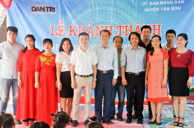 Phòng học Dân trí thứ 24 ra đời, tiếp tục nâng cánh ước mơ trẻ em vùng sâu, vùng xa - 21