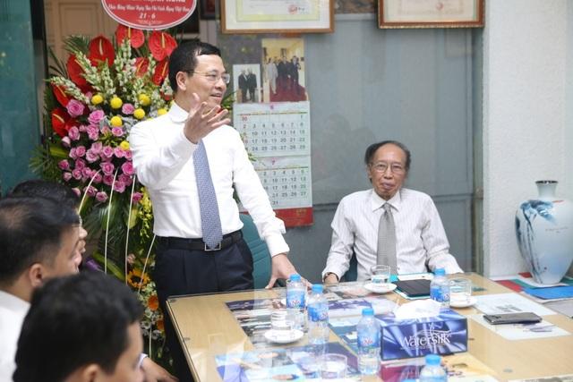 Bộ trưởng Nguyễn Mạnh Hùng: Báo Dân trí chắc chắn chỉ tốt lên! - 2