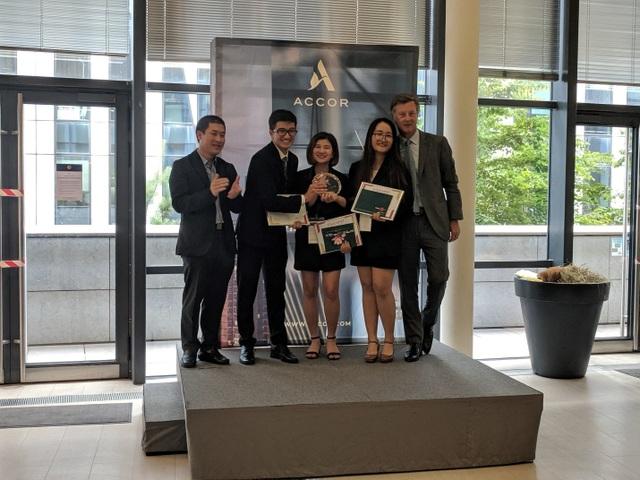 Sinh viên ĐH Kinh tế quốc dân trở thành nhà vô địch cuộc thi Accor Takeoff! 2019 - 1