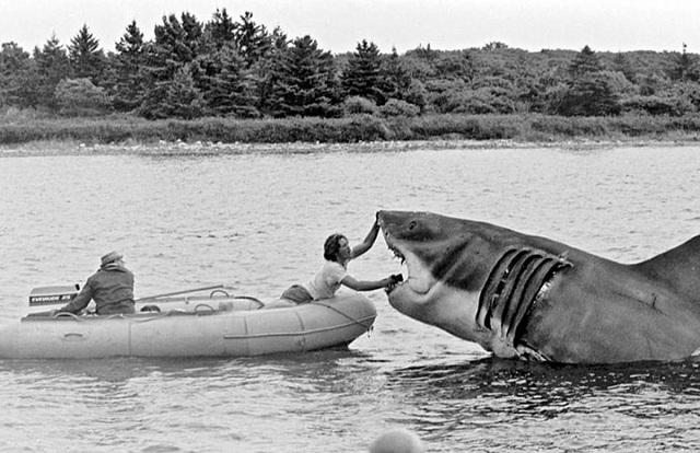 """Một số bức ảnh lần đầu công bố về phim trường """"Hàm cá mập"""" - 9"""