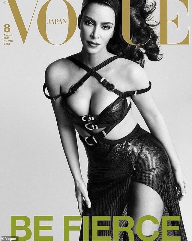 Kim Kardashian xuất hiện trên ba phiên bản trang bìa Vogue Nhật Bản - 1
