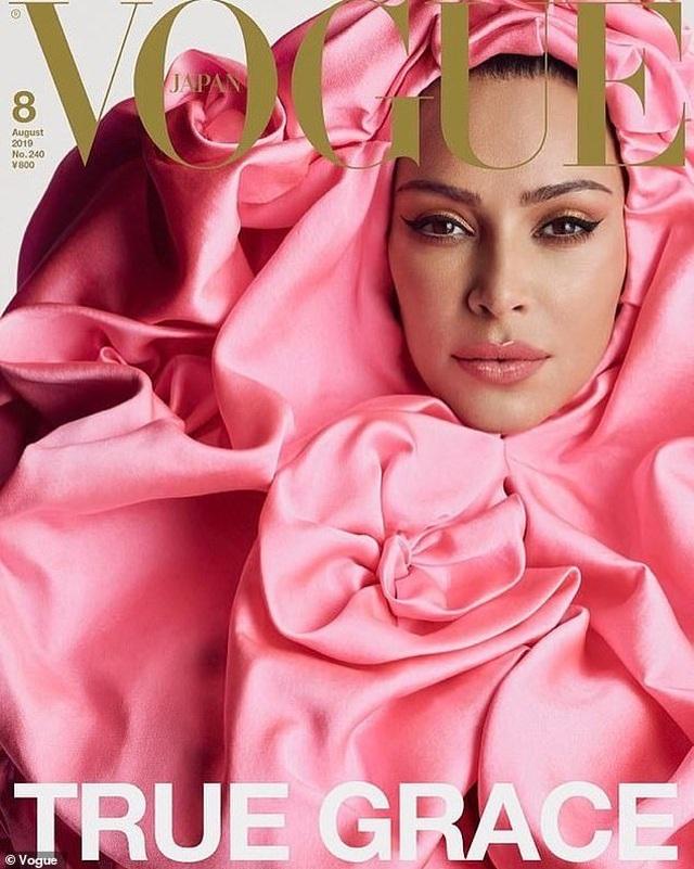 Kim Kardashian xuất hiện trên ba phiên bản trang bìa Vogue Nhật Bản - 3