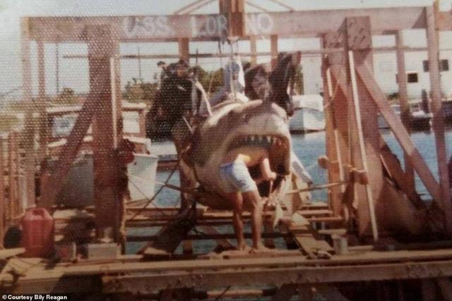 """Một số bức ảnh lần đầu công bố về phim trường """"Hàm cá mập"""" - 2"""