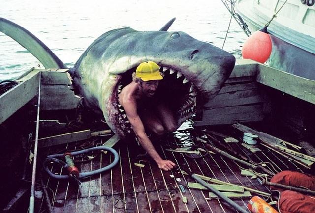 """Một số bức ảnh lần đầu công bố về phim trường """"Hàm cá mập"""" - 7"""