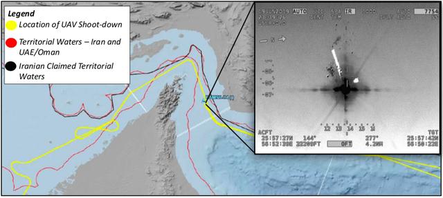 Iran, Mỹ đồng loạt công bố video bắn rơi máy bay không người lái - 2