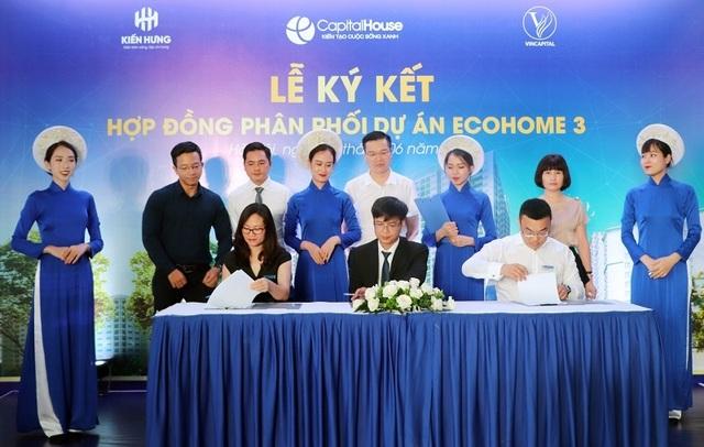 """Lộ diện đại lý chính thức phân phối dự án """"hot"""" EcoHome 3 - 1"""