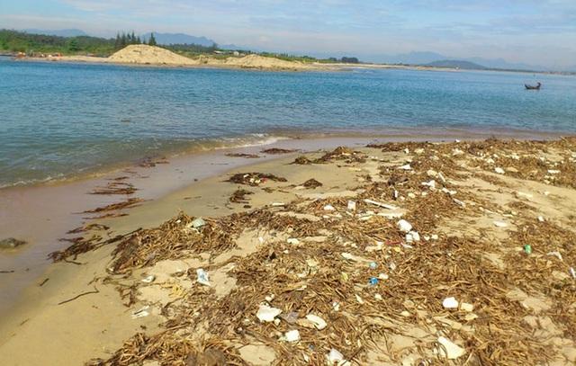 Quảng Ngãi: Cửa biển bồi lấp, ngư dân gặp khó - 1