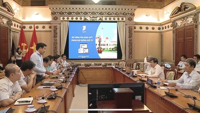 VNPT phát triển 2 ứng dụng hướng tới Chính phủ không giấy tờ - 1