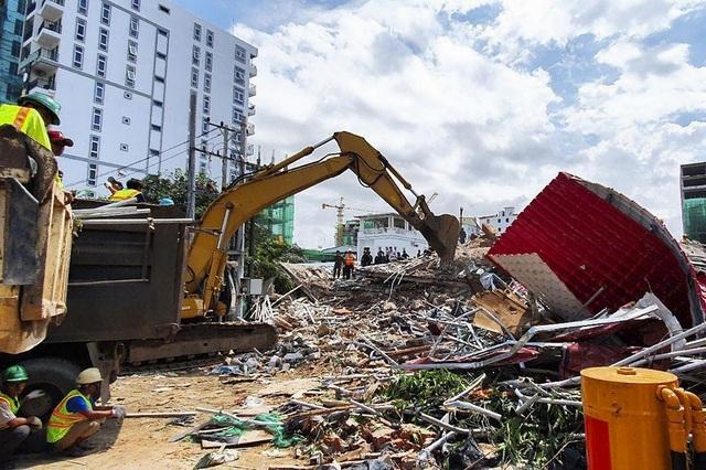 Sập tòa nhà do Trung Quốc đang xây dựng ở Campuchia, 30 người nghi bị chôn vùi - 3