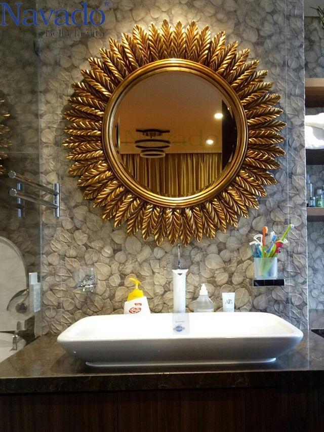 10 mẫu gương trang trí phòng tắm đẹp miễn chê khiến bạn cảm thấy bối rối - 3