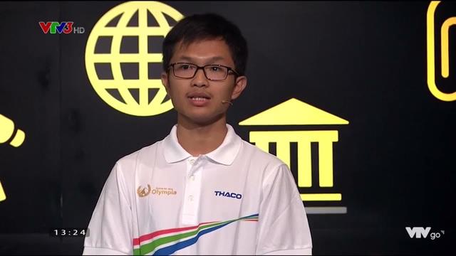 Nam sinh Gia Lai có tên lạ chiến thắng thuyết phục ở cuộc thi Tuần Olympia - 1