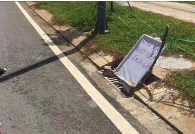 Vật lạ nghi là lựu đạn nằm lăn lóc ven đường ở dự án Khu Công nghệ cao - 2
