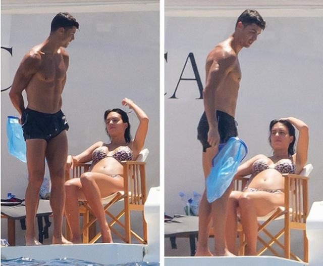 Bạn gái C.Ronaldo diện áo tắm khoe dáng bốc lửa trên du thuyền - 3