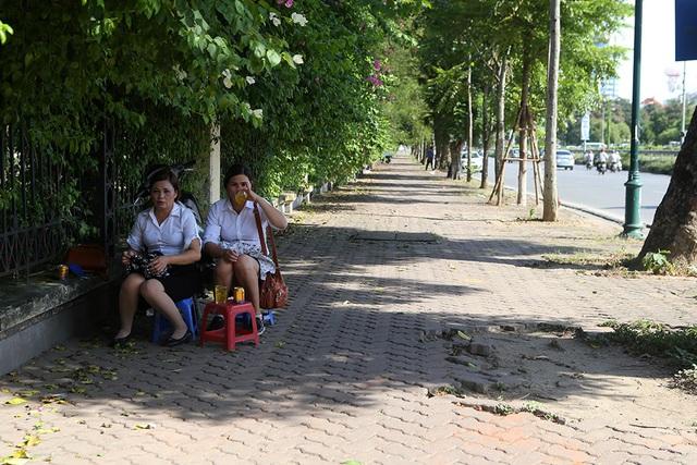 Bóng mát quý giá trên đường phố Hà Nội ngày nóng đỉnh điểm - 6
