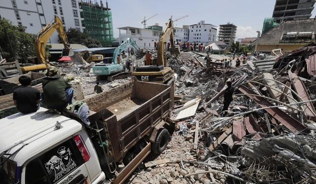 Vụ sập nhà do Trung Quốc xây dựng ở Campuchia: Số người chết tăng lên 17 - 2