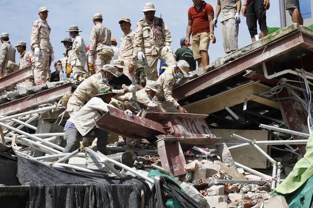 Vụ sập nhà do Trung Quốc xây dựng ở Campuchia: Số người chết tăng lên 17 - 1