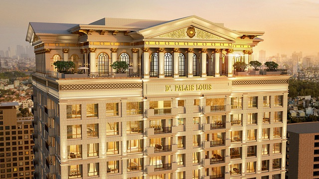 Câu chuyện Tân Hoàng Minh và dự án D'. Palais Louis - 1