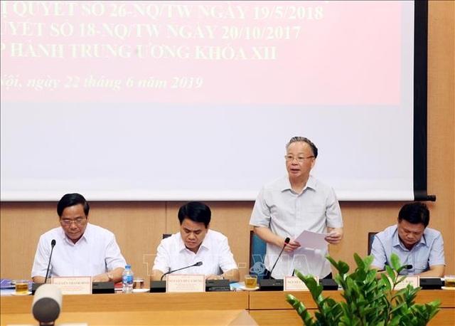 Đoàn kiểm tra Bộ Chính trị làm việc với Hà Nội về xây dựng đội ngũ cán bộ cấp chiến lược - 2