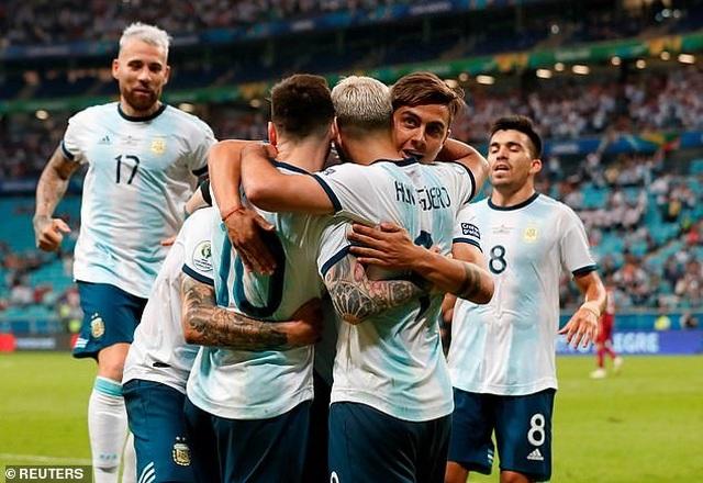 Xem lại Qatar vs Argentina, 2h00 ngày 24/6 (Copa America 2019)