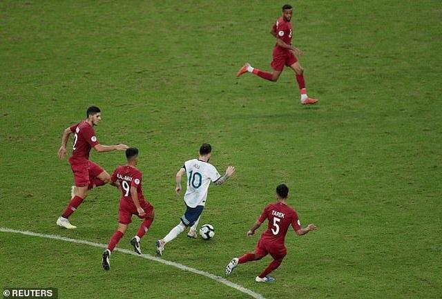 Hạ Qatar, Argentina vào tứ kết Copa America gặp Venezuela - 5