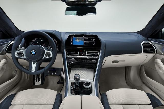 Soi chi tiết mẫu BMW 8-Series Gran Coupe sẽ cạnh tranh Porsche Panamera - 12