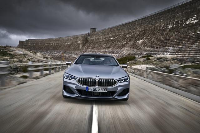 Soi chi tiết mẫu BMW 8-Series Gran Coupe sẽ cạnh tranh Porsche Panamera - 1