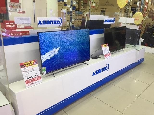 Các siêu thị, trung tâm thương mại: Nơi cấm, nơi vẫn bán đồ của Asanzo - 5