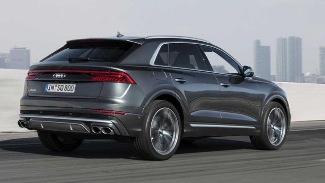 Dòng Audi Q8 có thêm phiên bản hybrid tính năng vận hành cao SQ8 - 4