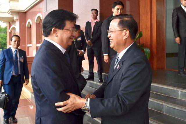 Việt Nam xây tặng Lào công trình tòa nhà Quốc hội mới - 2