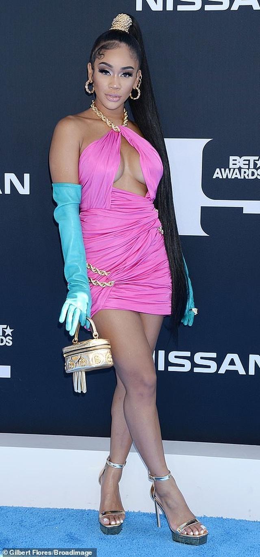 Ciara khoe chân dài, Justine Skye phô nội y trên thảm đỏ - 23