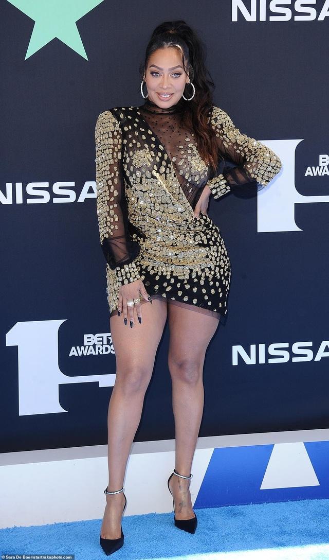 Ciara khoe chân dài, Justine Skye phô nội y trên thảm đỏ - 26