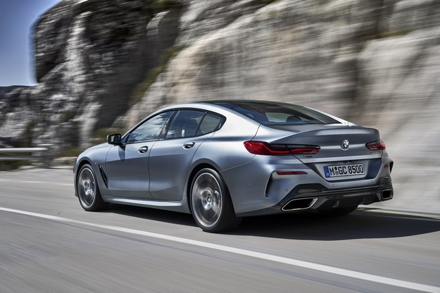 Soi chi tiết mẫu BMW 8-Series Gran Coupe sẽ cạnh tranh Porsche Panamera - 16