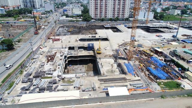 Cận cảnh dự án khủng trong khu đất vàng Quận 2, TPHCM vừa bị dừng thi công - 4